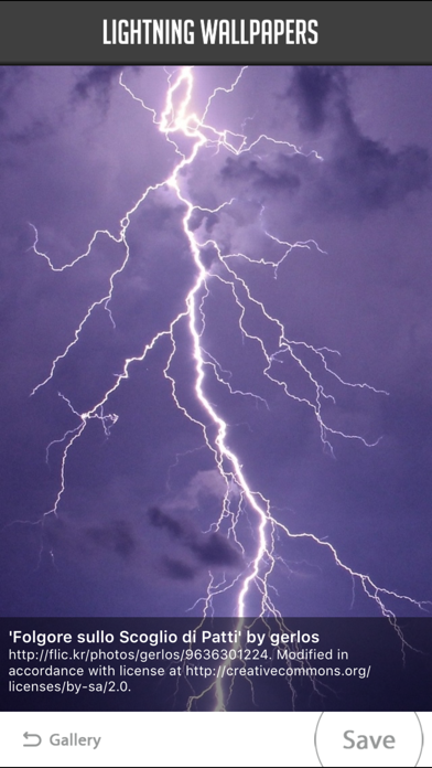 Lightning Wallpapers screenshot three