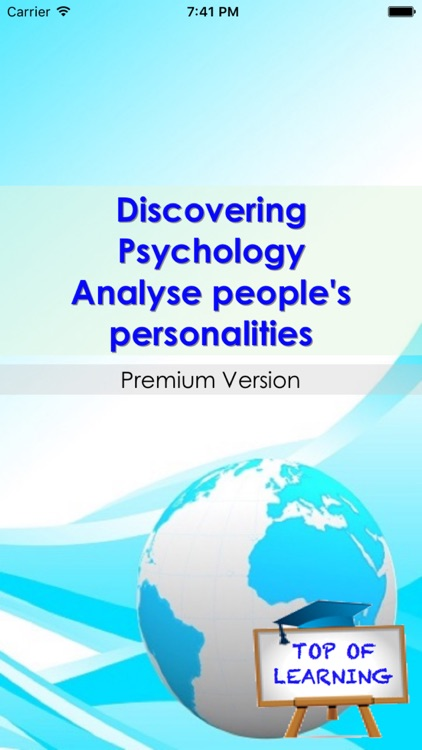 Discovering Psychology. Analyse people's personalities: 680 Study Notes & Quiz screenshot-4
