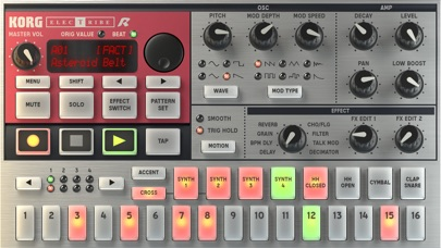 Screenshot #2 pour KORG iELECTRIBE for iPhone