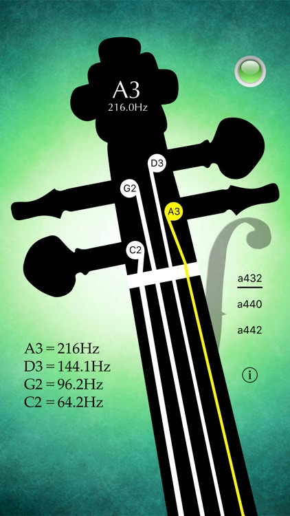 Cello Tuner Pro - Strings Tuner screenshot-2