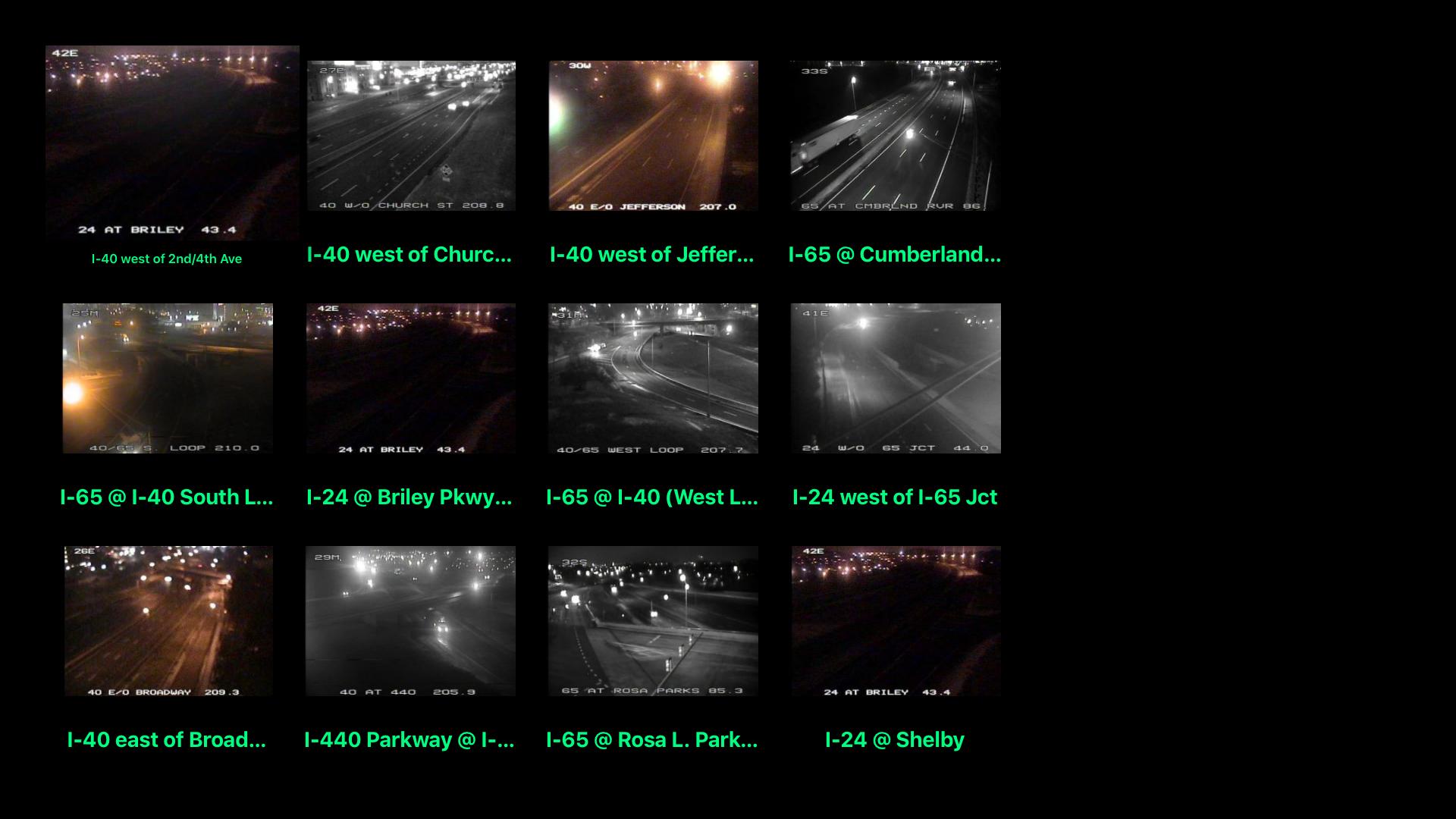 Tennessee NOAA Radar with Traffic Cameras 3D Pro screenshot 9
