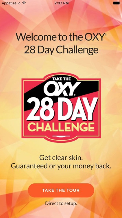 OXY 28 Day Challenge