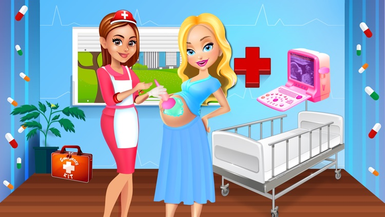 Mommy's Newborn Baby Hospital - Girls Doctor Games