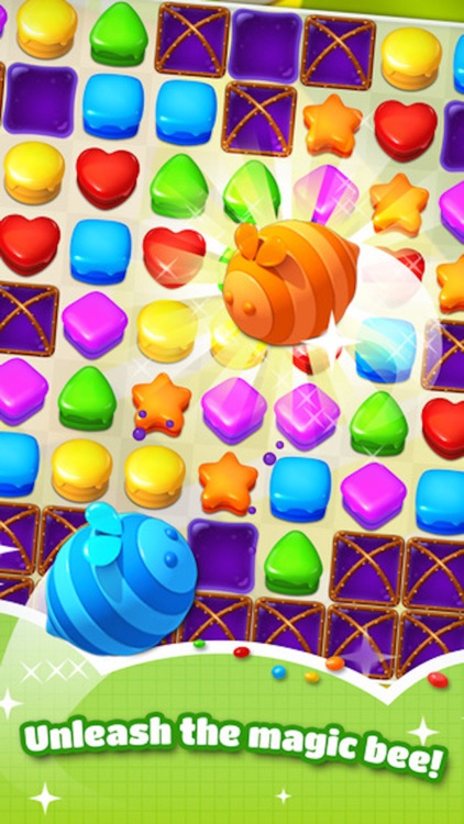 Sweet Cookie Candy - 3 match blast puzzle game