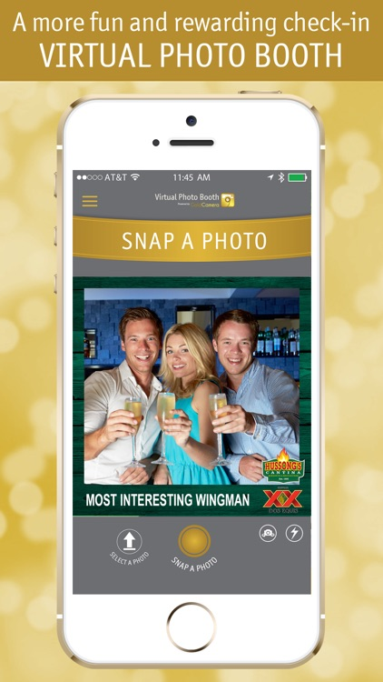 Virtual Photo Booth - powered by GoldCamera