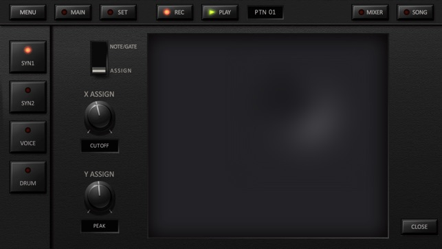 KORG iDS-10 Screenshot