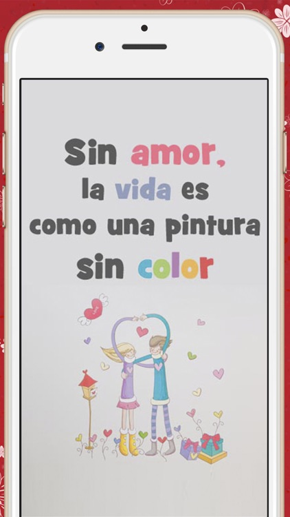 Love quotes in spanish  Romantic pictures with messages to conquer screenshot-4