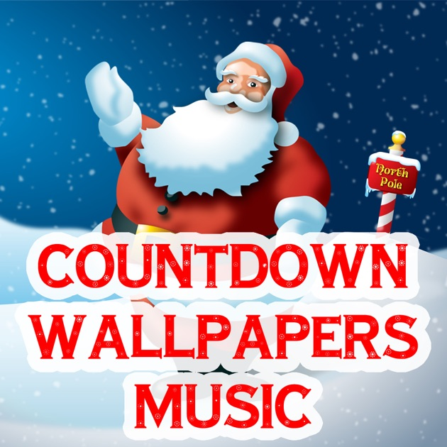 Wallpaper Music Download App: Christmas All-In-One (Countdown, Wallpapers, Music) On The