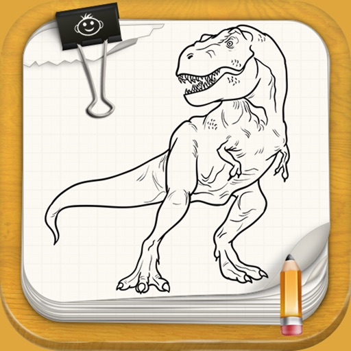 Learn To Draw Jurassic Dinosaurs