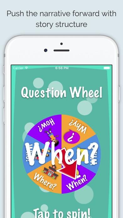 点击获取The Question Wheel