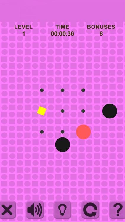 Simple Swipe. Red Ball screenshot-4