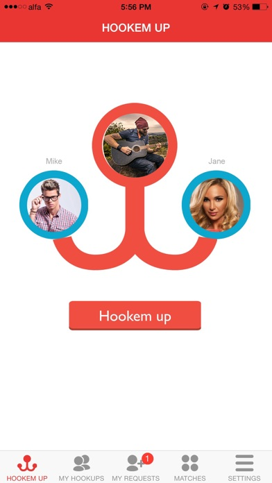 hook up with friends app