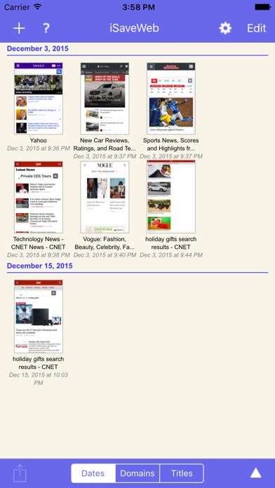 iSaveWeb - web saving toolのおすすめ画像1