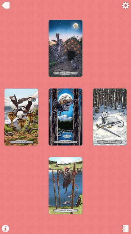 Animal Totem Tarot screenshot-4