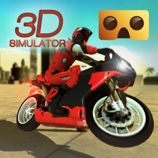 VR Motorbike Simulator : VR Game for Google Cardboard