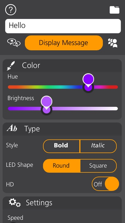 LED Banner App - Personalise Your Theme screenshot-3
