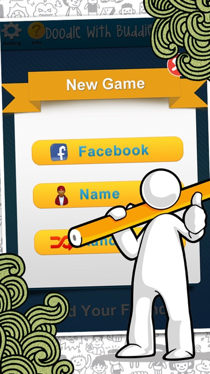 Doodle With Buddies : Fun Social Multi-player Drawing and Guessing Free Addicting Game to Play Family and Friends screenshot-3