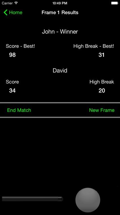 Break - Snooker Score Calculator screenshot-3
