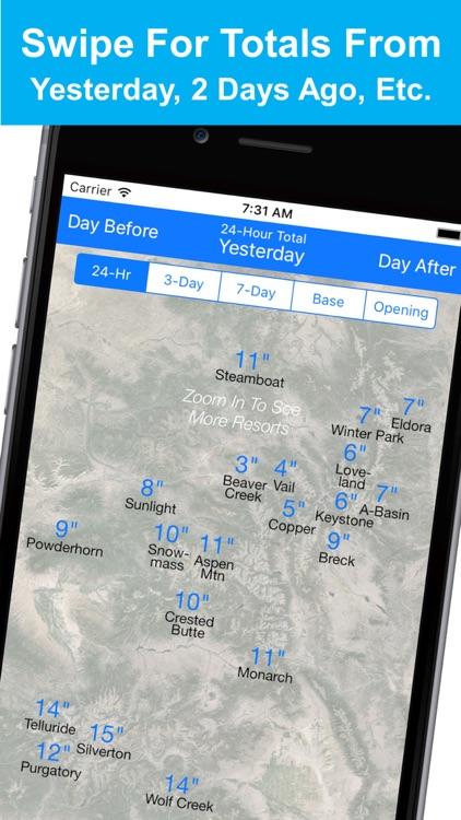 Colorado Snow Map & Webcams screenshot-4