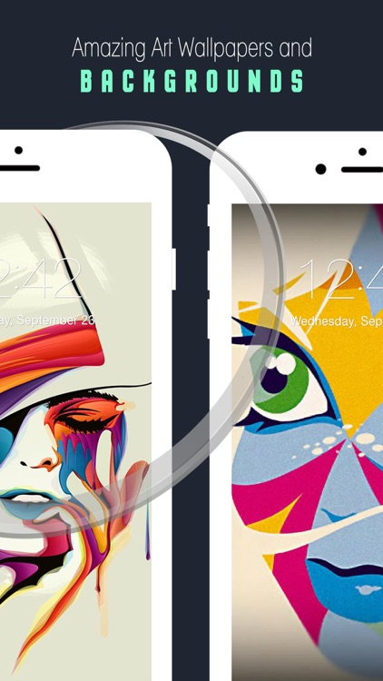 Art Wallpapers & Backgrounds 3D –Beautiful Abstract & illusion HD Lock Screen Wallpaper