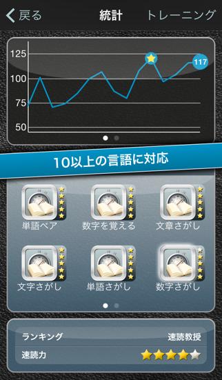 スピードリーディングiPhone版のおすすめ画像3