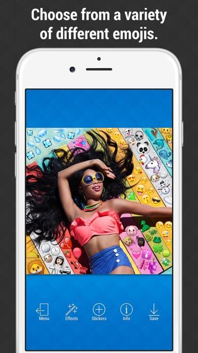 Emoji Picture Editor - Add Emojis to your Photos screenshot two
