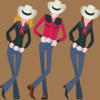 Tony Walsh - Teach Yourself Line Dancing アートワーク