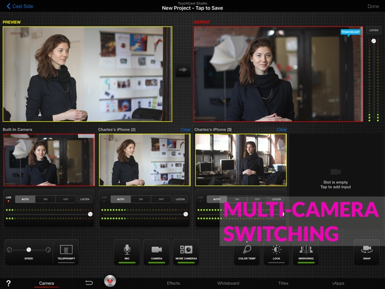TouchCast Studio screenshot-4
