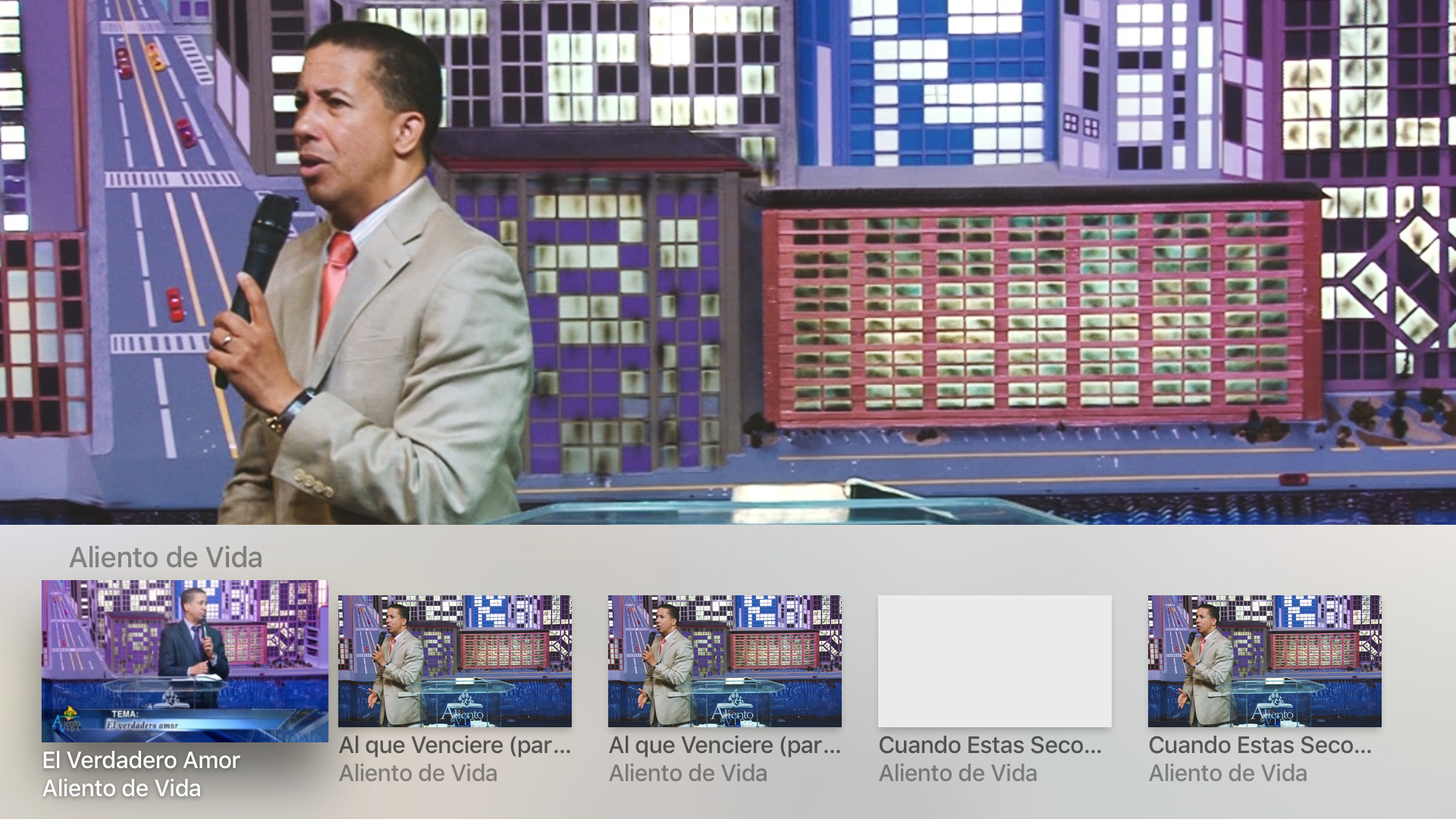 Aliento Vision TV Network screenshot 8
