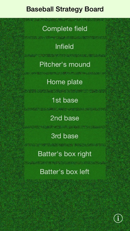 Baseball Strategy Board