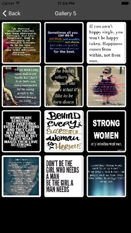 Strong Woman Quotes screenshot-3