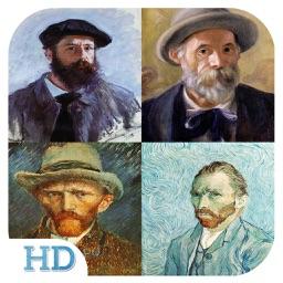 Art Gallery HD - Van Gogh , Monet , Klimt , Renoir