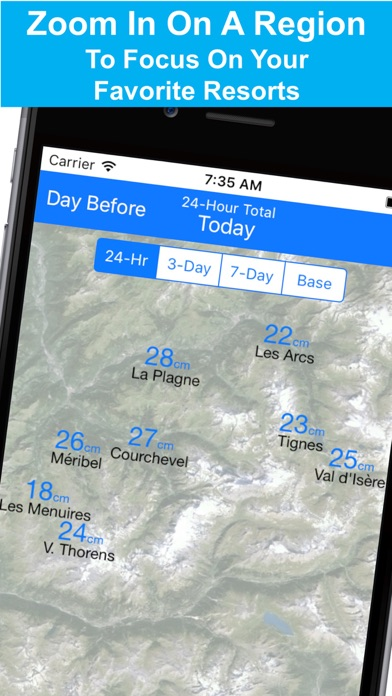 Alps Snow Map - Snow Reportsのおすすめ画像3