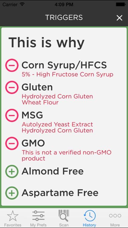 ipiit - Grocery Scanner for Food Allergies & Diets screenshot-4
