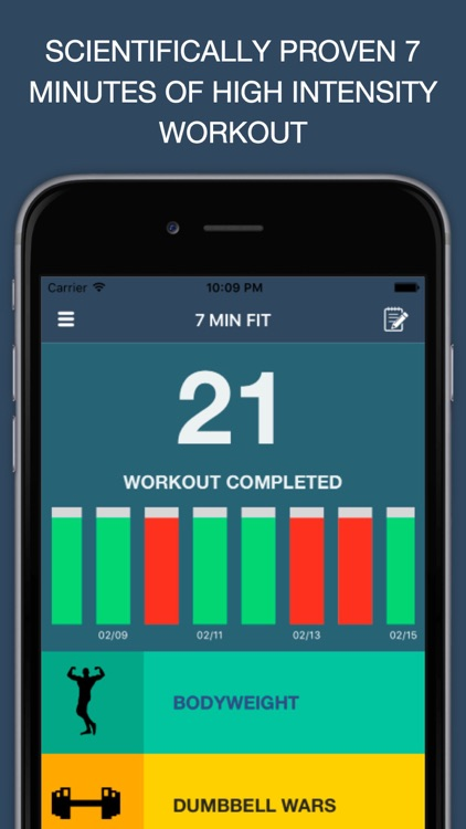 7 MIN FIT - The best high intensity workouts for busy people
