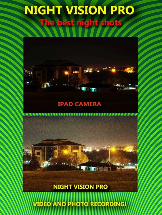 Night Vision Camera - True! HDR HD Real Green Binoculars Zoom with Private Folder Pro screenshot-3