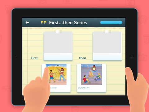 Sentence it! – Play and learn to create sentences, for kids with Autism and other Special Needs screenshot one