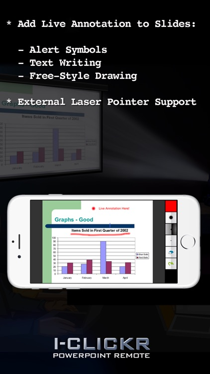i-Clickr Remote for PowerPoint (Tablet) screenshot-4