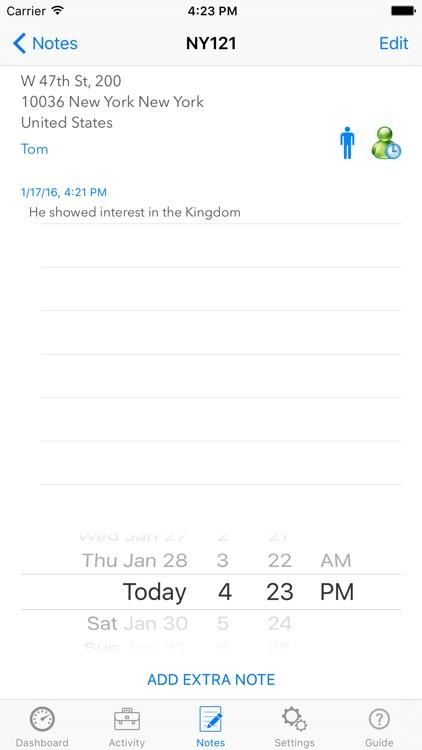 My Service Activity screenshot-3