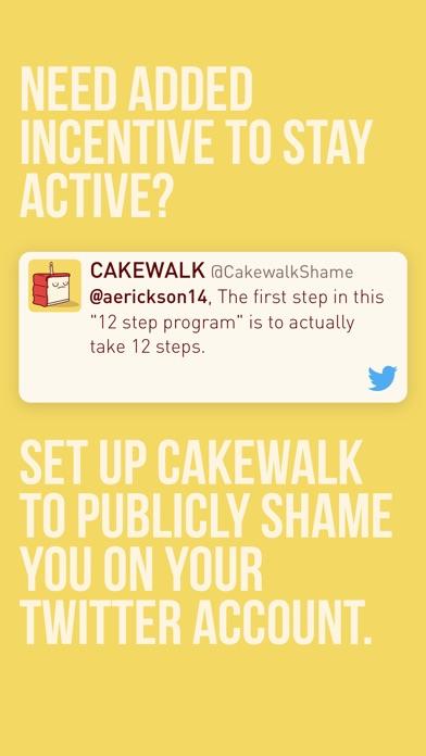 CAKEWALK - Your Fitness Motivator