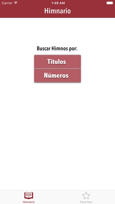 Screenshot for Himnos de Gloria y Triunfo in United States App Store