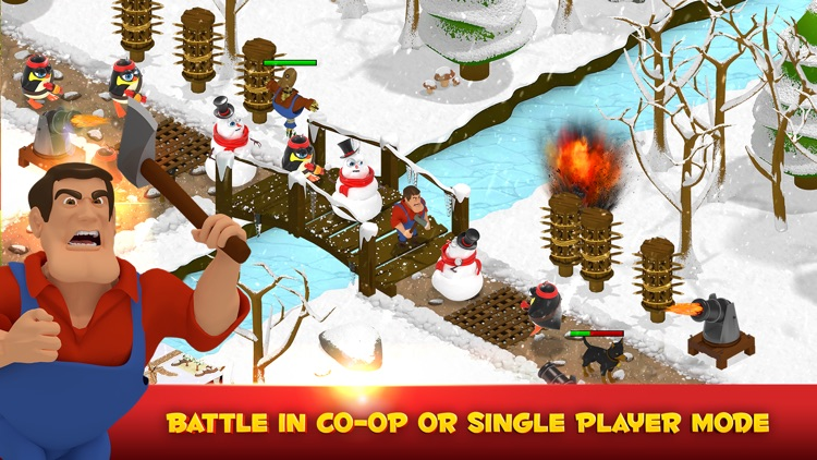 Battle Bros - Tower Defense screenshot-1