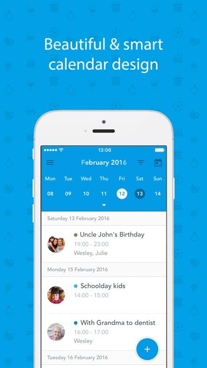 Dayhaps shared calendar
