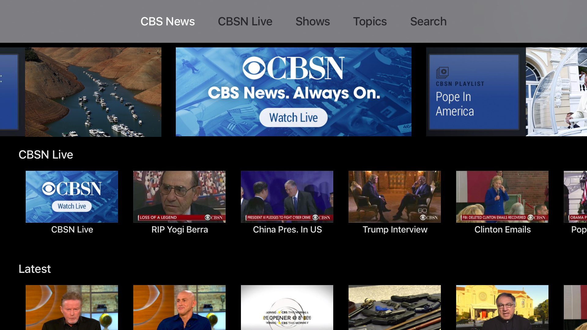 CBS News: Live Breaking News screenshot 15