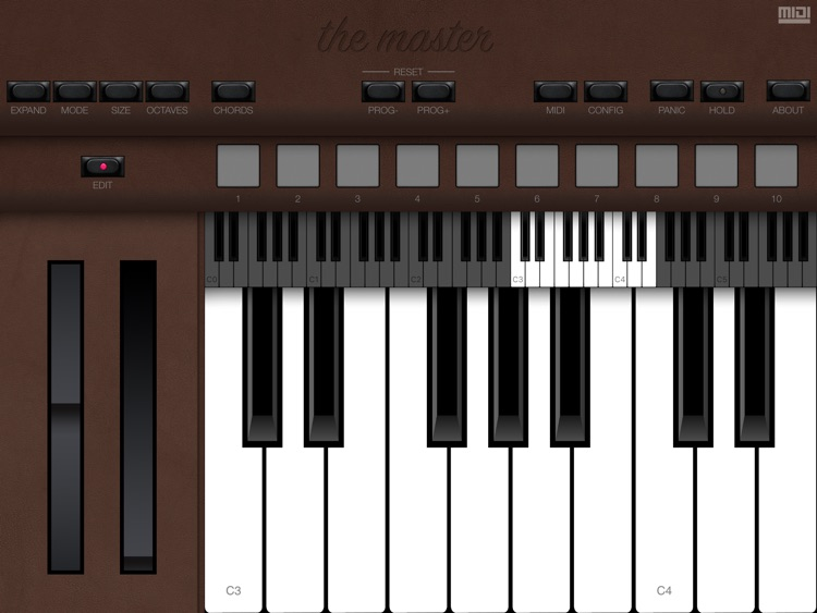 The Master MIDI Keyboard screenshot-3
