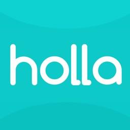 holla - invite, meet, share