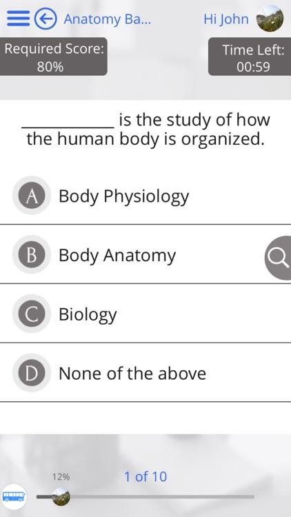 Human Body Anatomy & Strength Anatomy by GoLearningBus screenshot-4