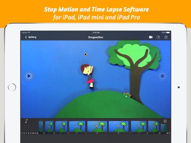 iStopMotion for iPad Screenshot