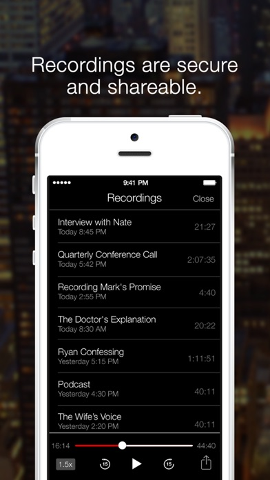 TapeACall Pro - Record Calls Screenshot 4