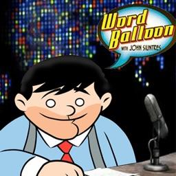 Word Balloon Comic Book